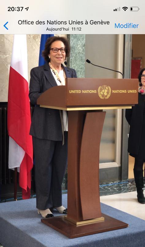 Leonie UN Geneva