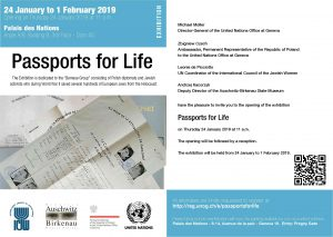 Passports for Life Exhibition