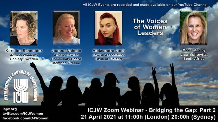 voices of Women Leaders webinar